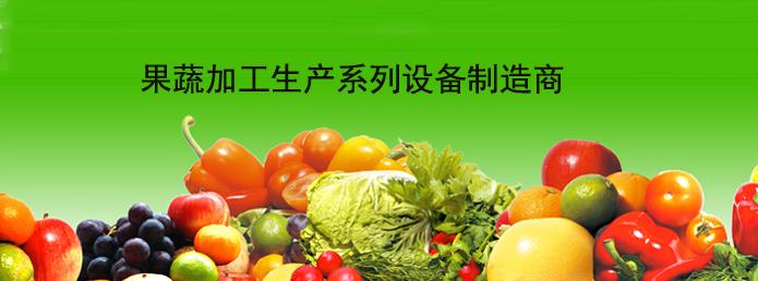 果蔬加工生產系列設備制造商