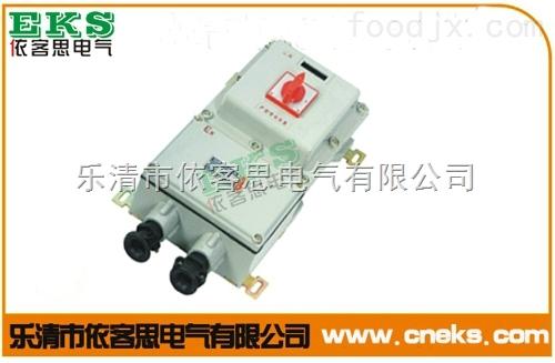 专业生产BDZ52-50A防爆断路器厂家