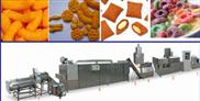 小型多功能双螺食品膨化机