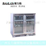 AS-0.2L-赛力斯2门不锈钢吧台柜 冷藏展示柜 冰柜