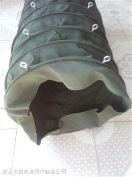 丹东吊环式帆布输送伸缩袋操作方便