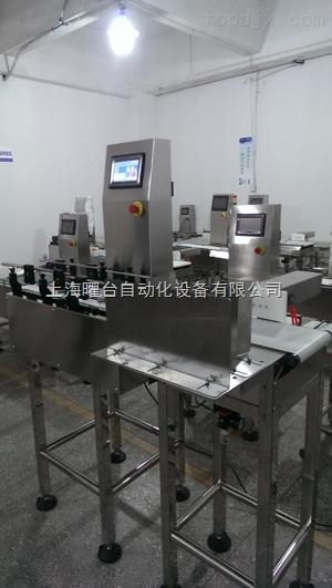 YW-220休闲食品专用自动检重秤(5g-1.5Kg,120包/分,± 0.5g)