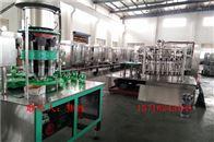 DGCF系列全自动三合一玻璃瓶汽水饮料灌装机