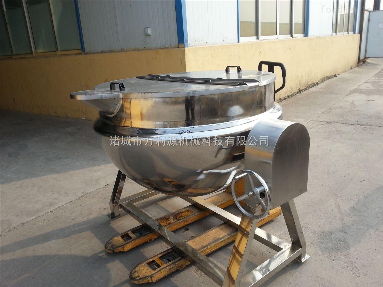 可倾电加热夹层锅/刮底搅拌夹层锅/电汽两用夹层锅