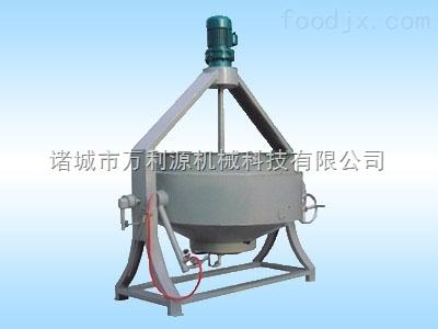 电磁夹层锅/导热油夹层锅/自动翻转搅拌夹层锅