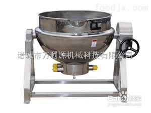 夹层锅,夹层锅厂家,酱料搅拌锅