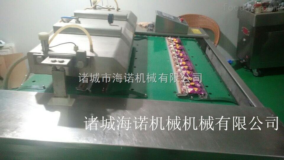 1000稻花香大米全自动连续式真空包装机滚动式真空包装设备