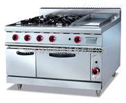 GF-996A-立式燃气煲仔炉连扒炉连焗炉