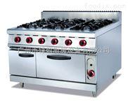 GH-997-立式燃气六头煲仔炉连焗炉