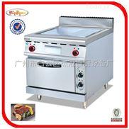 EG-886D-立式电扒炉连柜座(全平)