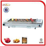 GB-700-杰冠+燃气自动旋转烧烤炉/烤串炉/串串烧烤炉