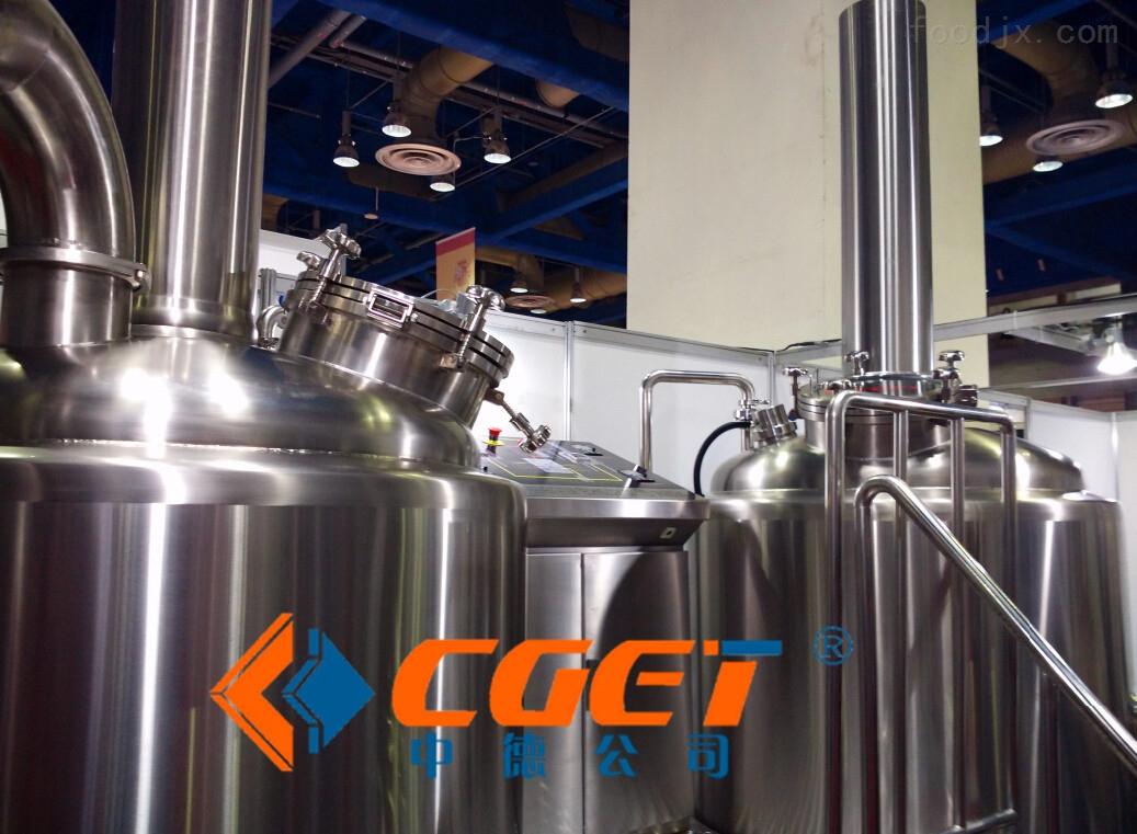 500升-啤酒设备糖化系桶-山东中德精酿技术服务有限