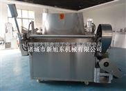 自动燃煤油水混合油炸机