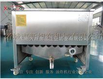 小龙虾燃煤油水混合油炸机