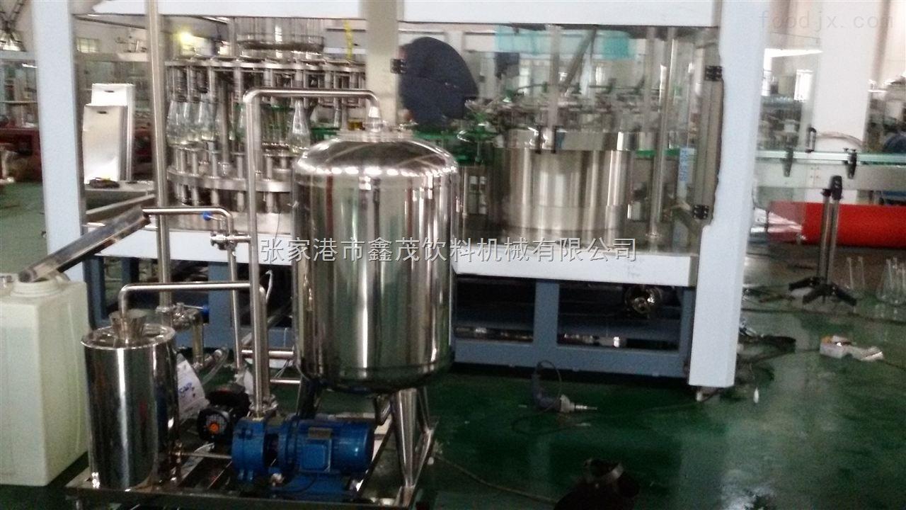 1.5L玻璃瓶芒果汁饮料热灌装生产线