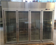 广州浩麦供应 玻璃门冷柜 便利店柜 大力柜 冷柜 4门冷柜