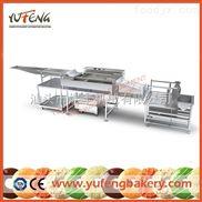 煜豐專業供應電加熱油炸機 蛋糕烘焙機械 質量上乘 可定制