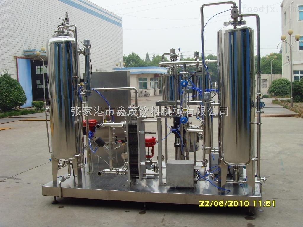 饮料机械厂家供应含气饮料辅助设备高倍混合机