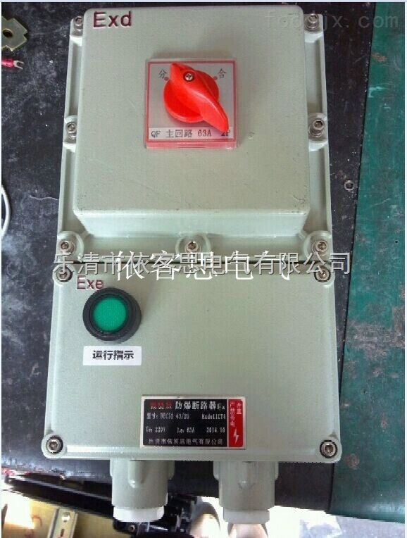 16-32A防爆断路器箱BLK52-32A 防爆空气开关箱