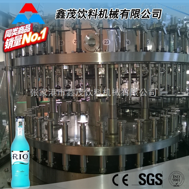 全自动玻璃瓶饮料生产线