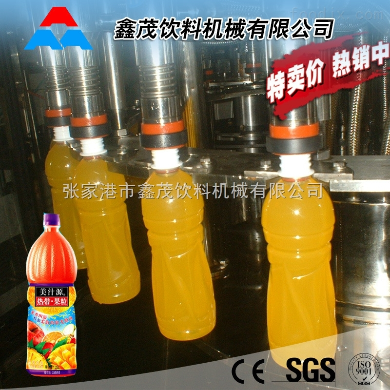 花茶饮料灌装设备 果汁饮料生产线厂家 全自动灌装设备 饮料生产线专业制造