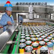 张家港饮料机械厂家果汁凉茶易拉罐饮料生产线