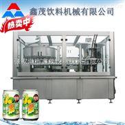 易拉罐灌裝機械制造廠家果汁飲料生產線廠家 全自動灌裝設備 飲料生產線專業制造