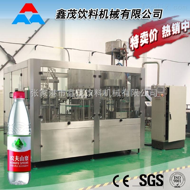 小型饮料生产设备瓶装矿泉水灌装机 全自动纯净水生产线厂家 张家港饮料机械