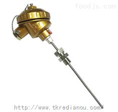 WZPK-236固定螺纹卡套铠装热电阻