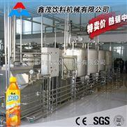 果汁生產線全套 果汁飲料生產線 全自動果汁茶飲料灌裝機 三合一熱灌裝機型
