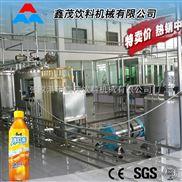 果汁灌装机 灌装封口自动生产流水线茶饮料生产设备茶饮料生产线