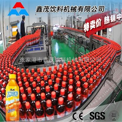 瓶装红茶饮料生产线 凉茶生产线易拉罐绿茶灌装设备