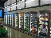 立式玻璃冷柜,超市冰柜,保鲜饮料柜,深圳制冷设备正品