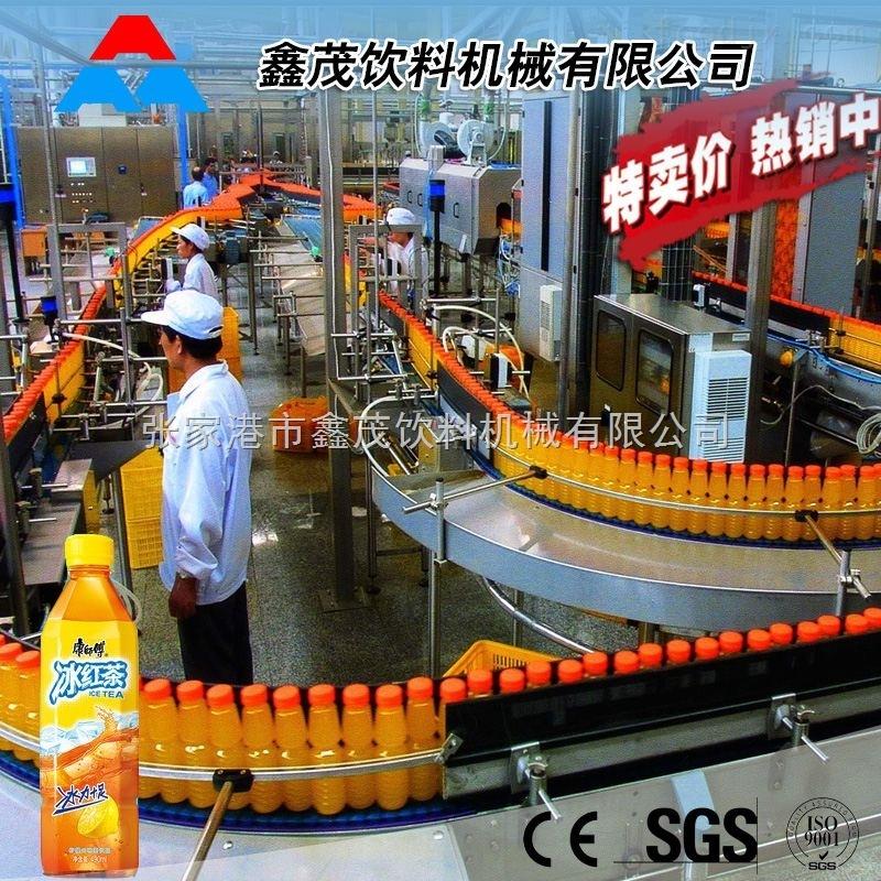 中草药保健饮料生产线 苹果荔枝木瓜饮料生产线 饮料灌装包装生产线
