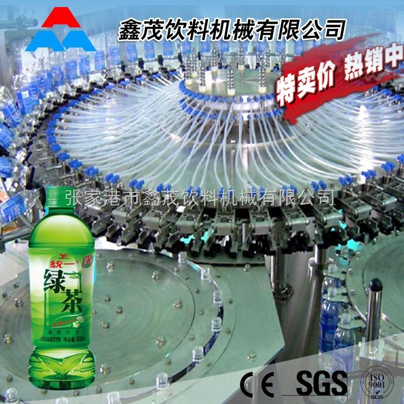 大型全自动果汁饮料灌装生产线