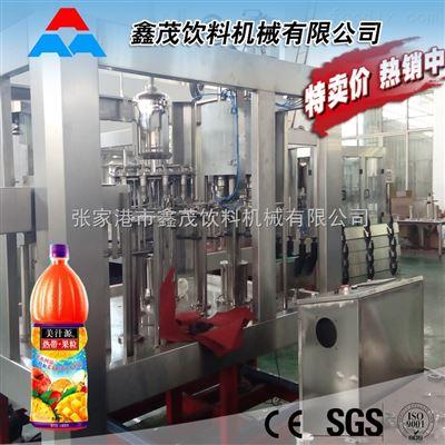 热销三合一矿泉水液体灌装生产线 果汁饮料三合一灌装机