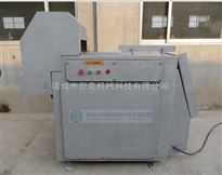 冻猪肉切块设备报价 北京冻盘切块机