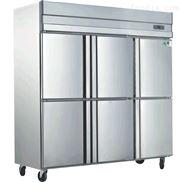 成云六门单温不锈钢厨房柜