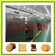 大型饼干生产线/食品饼干加工设备/小型饼干机器