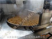 電加熱半自動豆泡油炸機