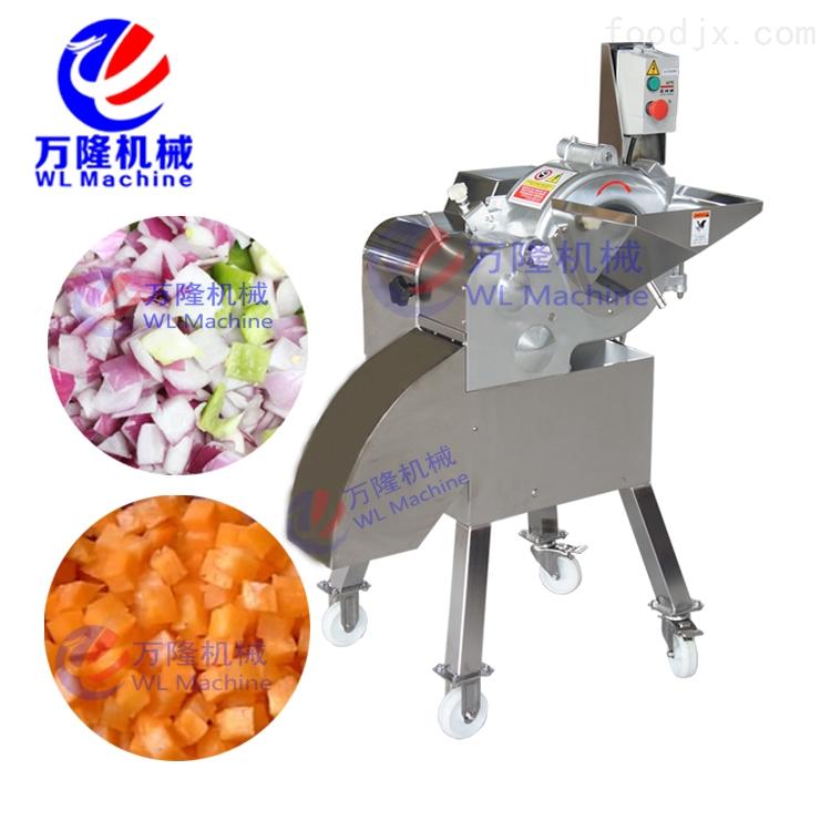 自动高速红枣切丁机 商用芒果切粒机