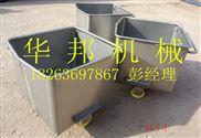 华邦牌不锈钢200L标准料车, 食品辅料桶车