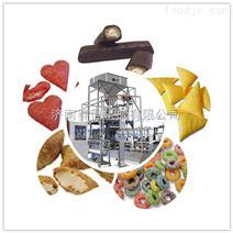 夹心膨化休闲食品生产线