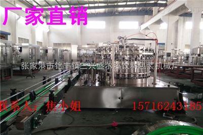 DGCF系列全自动小型玻璃瓶汽水灌装机