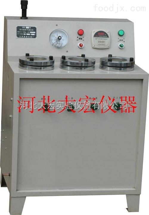 DTS-3型电动油毡不透水仪