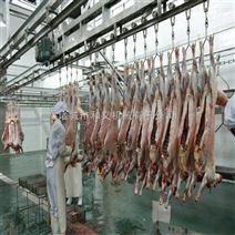 牛羊屠宰设备 羊放血输送线 羊屠宰流水线 屠宰场设备