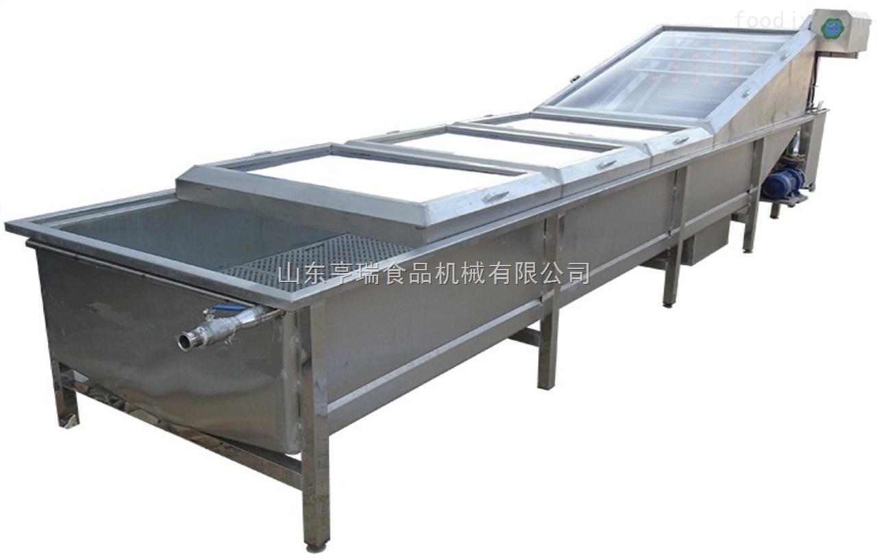 QPJ-1红枣汽泡毛刷清洗机