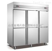 不锈钢六门冰柜
