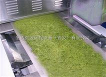隧道式微波荷叶杀青机,荷叶烘干机厂家