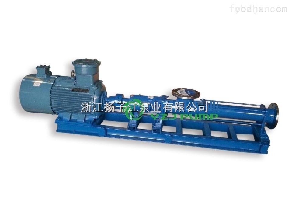 防爆單螺桿泵|G-70型單螺桿泵(軸不銹鋼)|耐腐蝕單螺桿泵